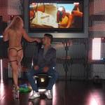 strip-tease en discothèque