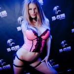 Stripteaseuse Nancy Maeva