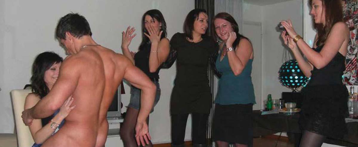 Stripteaseur à domicile